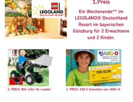 rheinmain4family verlost ein familienwochenende im legoland in g nzburg gewinnspiele t glich. Black Bedroom Furniture Sets. Home Design Ideas