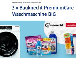 dm verlost drei waschmaschinen von bauknecht gewinnspiele t glich. Black Bedroom Furniture Sets. Home Design Ideas